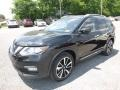 Nissan Rogue SL AWD Magnetic Black photo #8