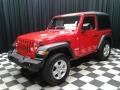 Jeep Wrangler Sport 4x4 Firecracker Red photo #2