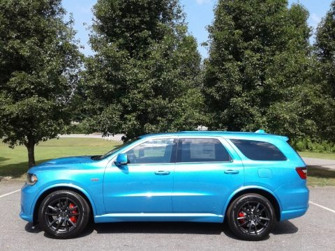 Surf Blue Pearl 2018 Dodge Durango SRT AWD