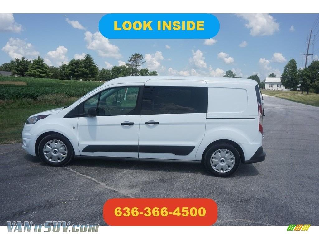 2014 Transit Connect XLT Van - Frozen White / Medium Stone photo #1