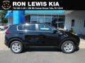 Kia Sportage LX AWD Black Cherry photo #1
