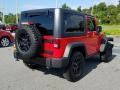 Jeep Wrangler Willys Wheeler 4x4 Firecracker Red photo #5