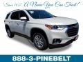 Chevrolet Traverse LT AWD Pearl White photo #1