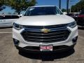 Chevrolet Traverse LT AWD Pearl White photo #2