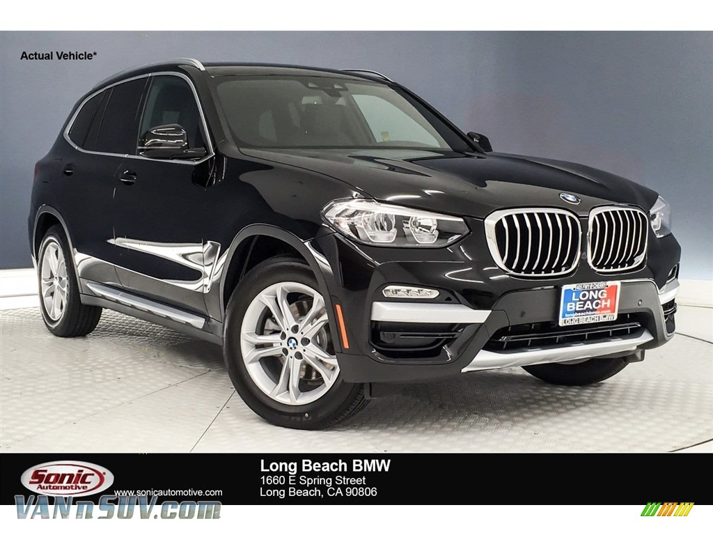 Jet Black / Black BMW X3 sDrive30i