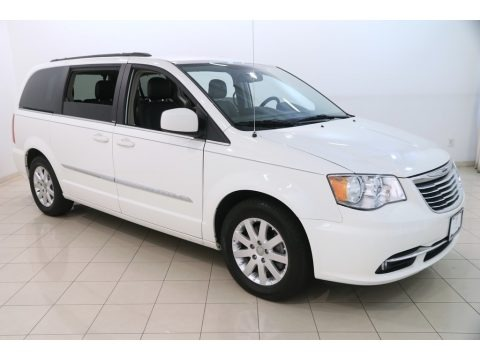 Stone White 2013 Chrysler Town & Country Touring