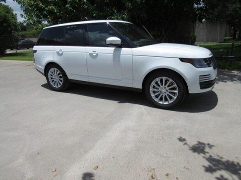 Fuji White 2018 Land Rover Range Rover