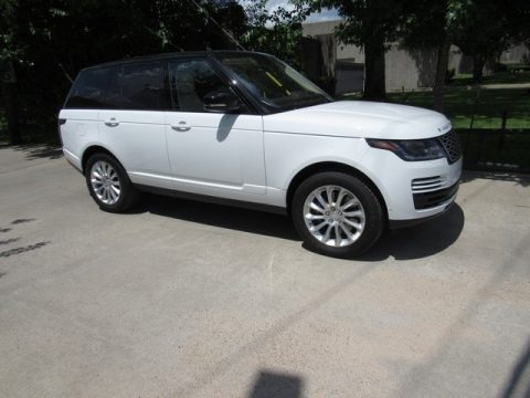 Fuji White 2018 Land Rover Range Rover Supercharged