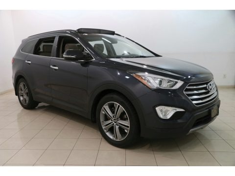 Night Sky Pearl 2014 Hyundai Santa Fe Limited AWD