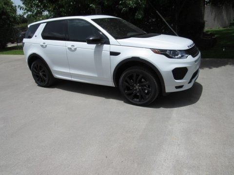 Fuji White 2018 Land Rover Discovery Sport HSE