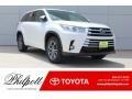 Toyota Highlander XLE Blizzard White Pearl photo #1