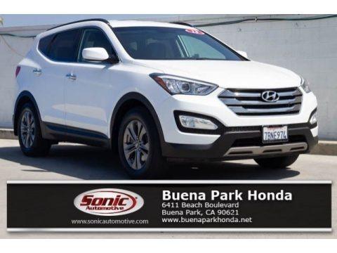 Frost White Pearl 2013 Hyundai Santa Fe Sport