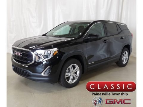 Ebony Twilight Metallic 2018 GMC Terrain SLE AWD