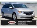 Honda Odyssey EX-L Alabaster Silver Metallic photo #1