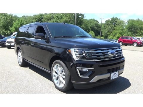 Shadow Black 2018 Ford Expedition Limited Max 4x4