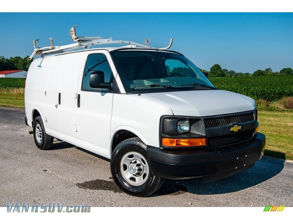 2013 Express 2500 Cargo Van - Summit White / Neutral photo #1