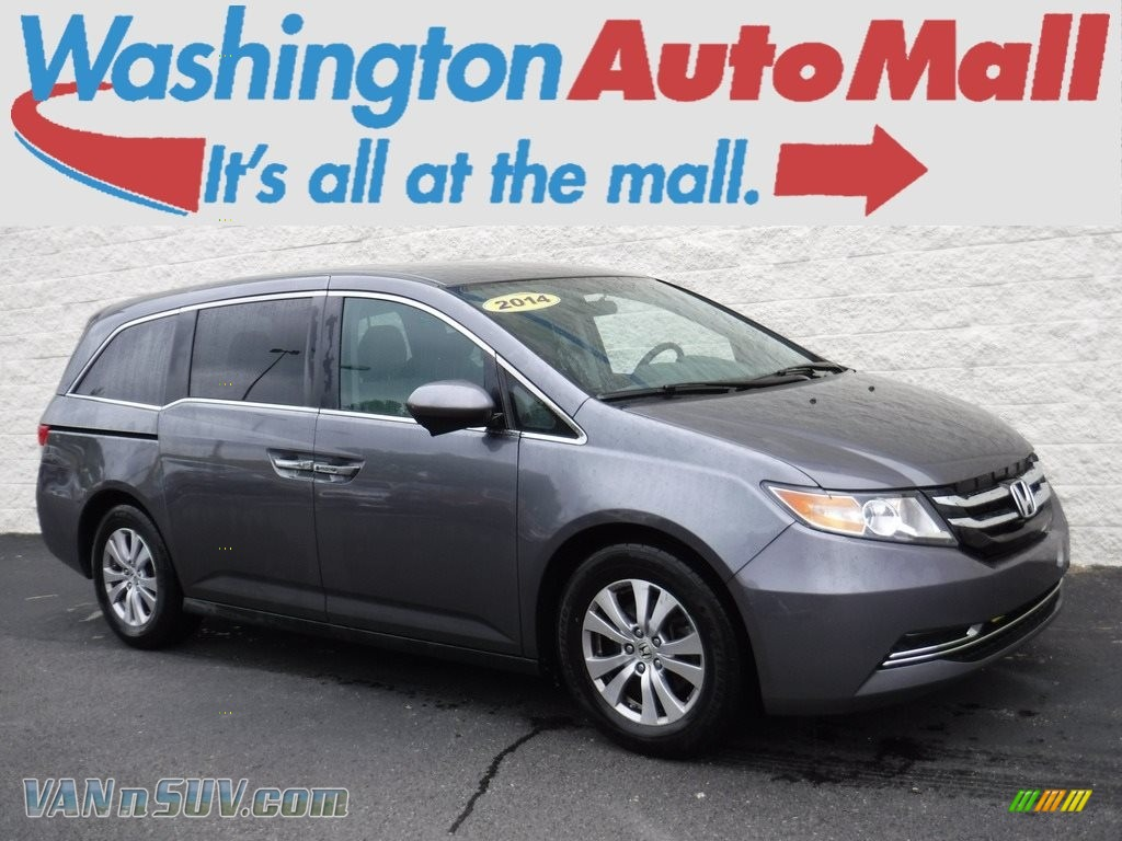 2014 Odyssey EX - Modern Steel Metallic / Gray photo #1