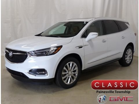 Summit White 2019 Buick Enclave Premium AWD