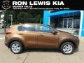 Kia Sportage LX AWD Burnished Copper photo #1