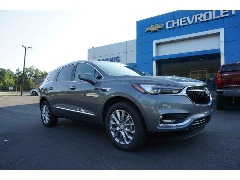 Satin Steel Metallic 2019 Buick Enclave Premium