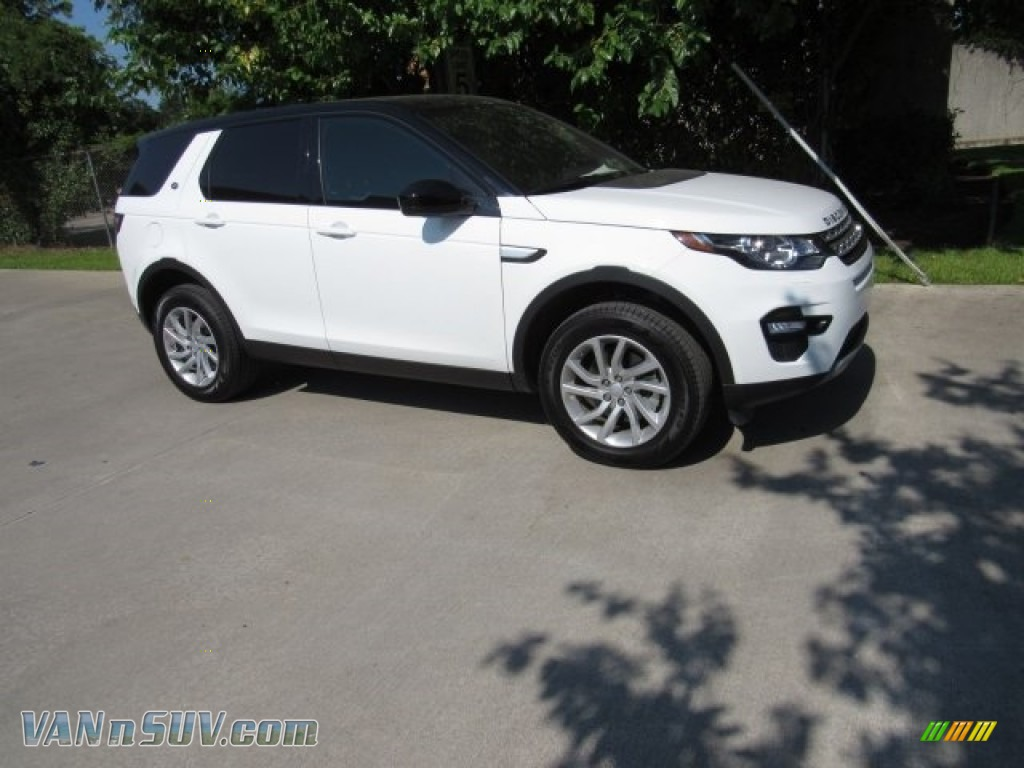 2018 Discovery Sport HSE - Fuji White / Ebony photo #1