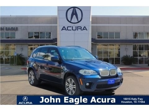 Deep Sea Blue Metallic 2011 BMW X5 xDrive 50i