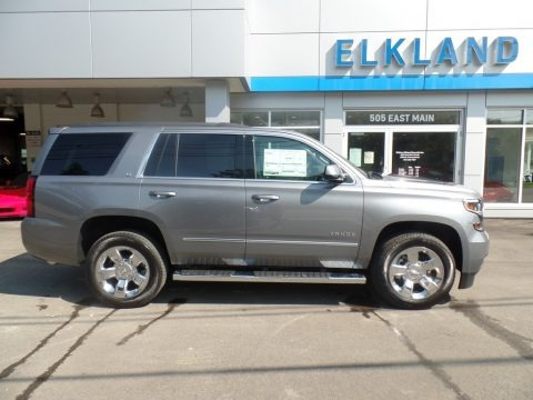 Satin Steel Metallic 2019 Chevrolet Tahoe LT 4WD