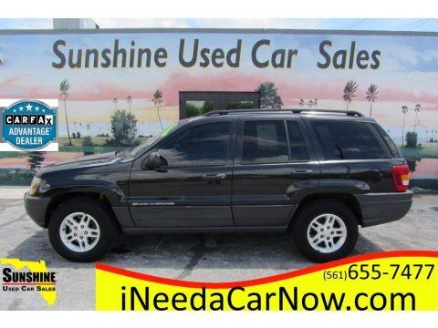 Brilliant Black 2003 Jeep Grand Cherokee Laredo