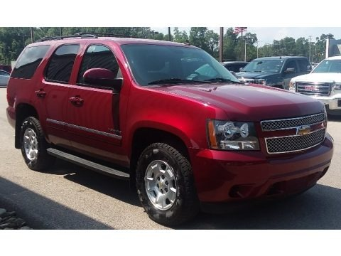 Red Jewel Tintcoat 2011 Chevrolet Tahoe LS 4x4