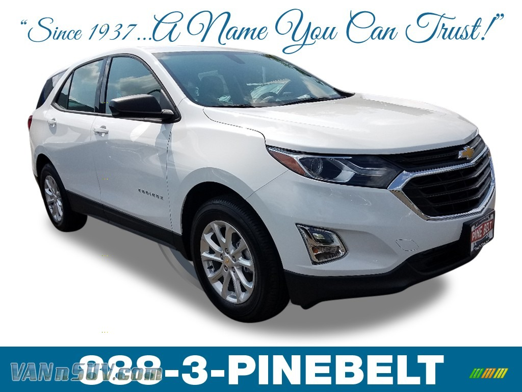 2019 Equinox LS AWD - Summit White / Medium Ash Gray photo #1