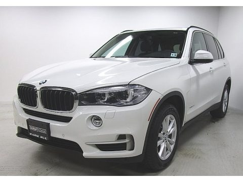 Alpine White 2015 BMW X5 xDrive35d