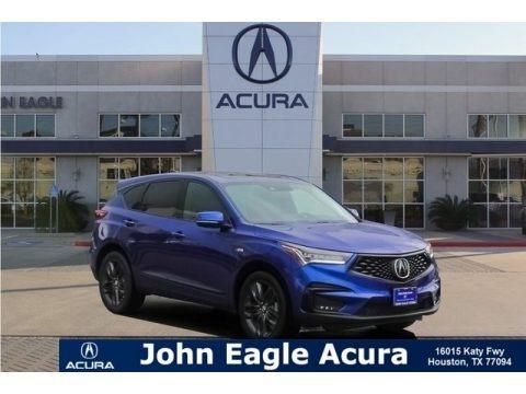 Apex Blue Pearl 2019 Acura RDX A-Spec