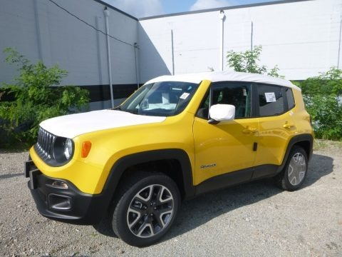 Solar Yellow 2018 Jeep Renegade Latitude 4x4