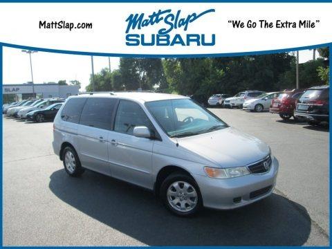 Starlight Silver Metallic 2003 Honda Odyssey EX
