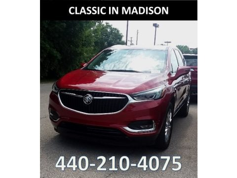 Red Quartz Tintcoat 2019 Buick Enclave Essence AWD
