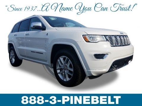 Bright White 2018 Jeep Grand Cherokee Overland 4x4