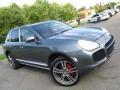 Porsche Cayenne Turbo Titanium Metallic photo #3