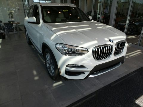 Alpine White 2018 BMW X3 xDrive30i