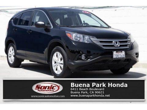 Crystal Black Pearl 2014 Honda CR-V EX