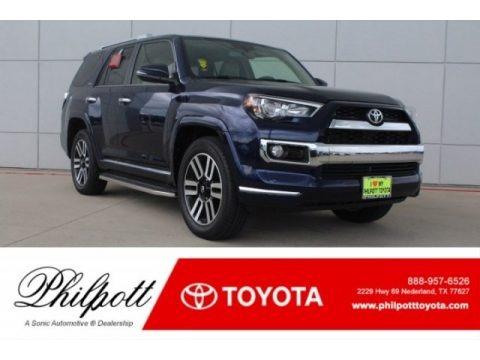 Nautical Blue Metallic 2018 Toyota 4Runner Limited