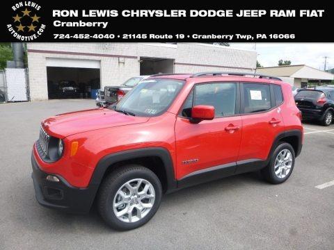 Colorado Red 2018 Jeep Renegade Latitude 4x4