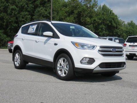 Oxford White 2018 Ford Escape SEL