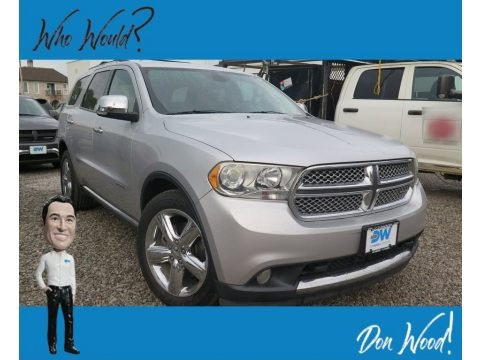 Bright Silver Metallic 2011 Dodge Durango Citadel 4x4