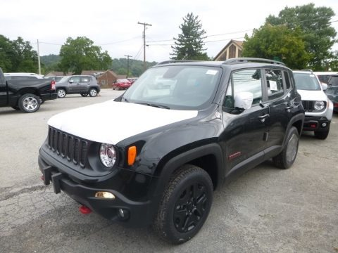 Black 2018 Jeep Renegade Trailhawk 4x4