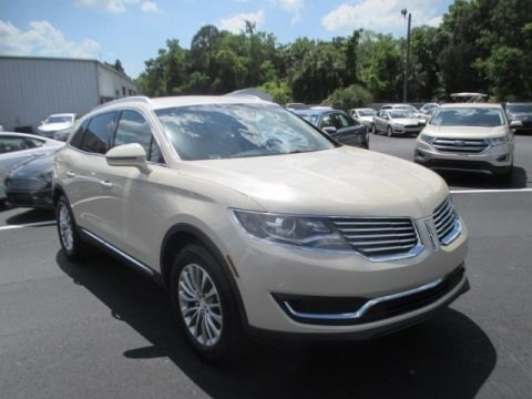 Ivory Pearl Metallic Tri-Coat 2018 Lincoln MKX Select
