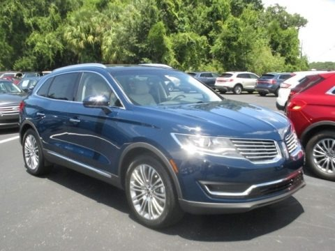 Rhapsody Blue 2018 Lincoln MKX Reserve