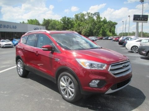 Ruby Red 2018 Ford Escape Titanium 4WD