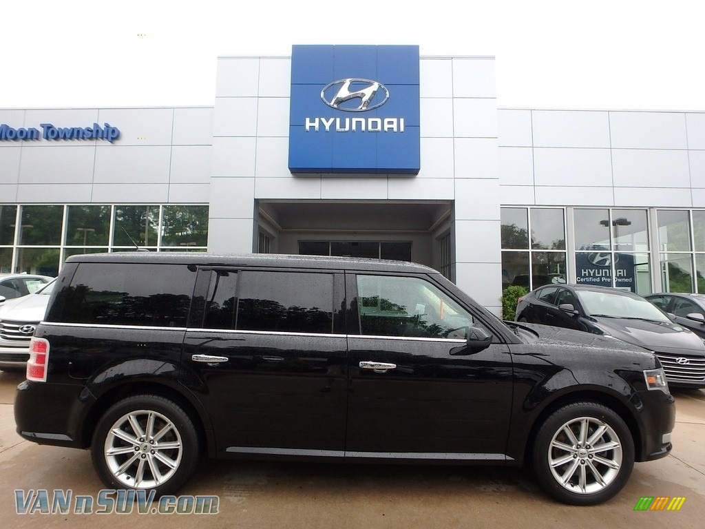 Shadow Black / Charcoal Black Ford Flex Limited AWD