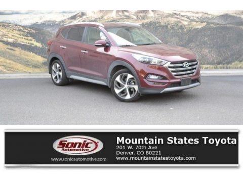 Ruby Wine 2017 Hyundai Tucson Limited AWD