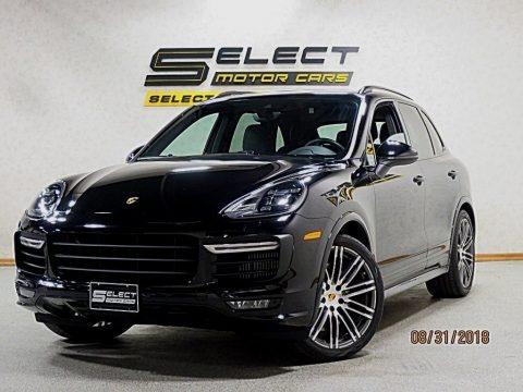 Jet Black Metallic 2016 Porsche Cayenne GTS